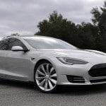 2012 Tesla Model S passasjersiden front tre kvart1 150x150 Tesla Model S   tidenes vakreste Elbil