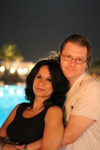 Eman Nabih og Bjørn Are Solstad