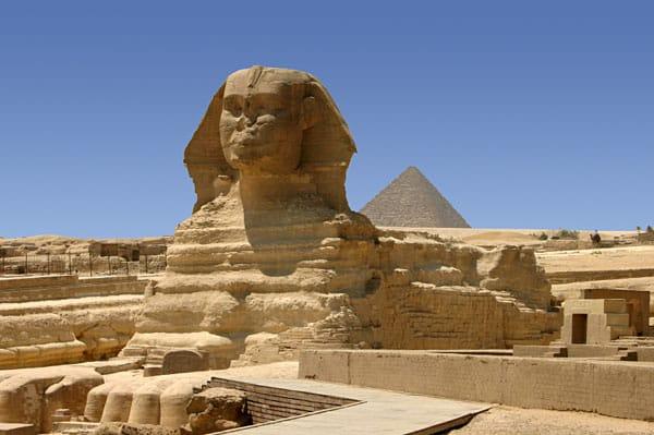 Det er ikke trygt å besøke pyramidene i Kairo