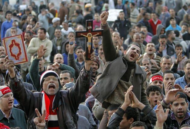 folk i egypt som protesterer1 Galehuset Egypt