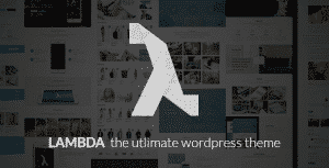 lambda wordpress 300x153 Norsk språkfil til Lambda Wordpress tema