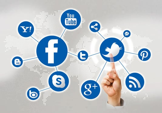 twitter facebook linkedin sosiale medier1 SEO eksperiment